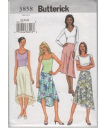 Butterick 3858 Misses' Skirt Sewing Pattern, Si... - $4.75