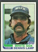 Chicago White Sox Dennis Lamp 1982 Topps Baseball Card # 622 nr mt - $0.50