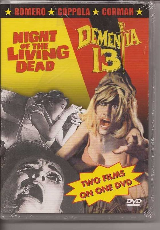 Primary image for Night Of The Living Dead & Dementia 13 DVD Restored & Enhanced Digital Masters w