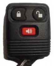 One New Ford Auto Vehicle Keyless Entry Remote 4 Button With Trunk - $14.95