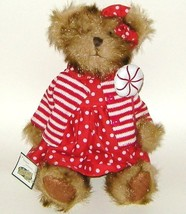 1/2 Price! Collections Etc Plush Jointed Teddy Bear in Red Dress - $6.00