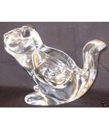 Chipmunk Crystal Kristallglas Clear Votive Candle Holder Germany 3lb Mint - $20.00