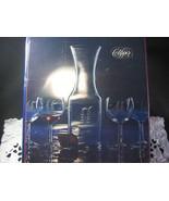 Clipper Carafe & Wine Glass set In Box - $35.00