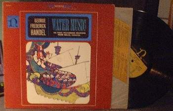 Pierre Boulez & Hague Philharmonic - HANDEL Water Music - No