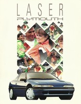 1991 Plymouth LASER sales brochure catalog US 91 RS TURBO - $8.00