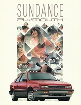 1991 Plymouth SUNDANCE sales brochure catalog US 91 AMERICA - $6.00