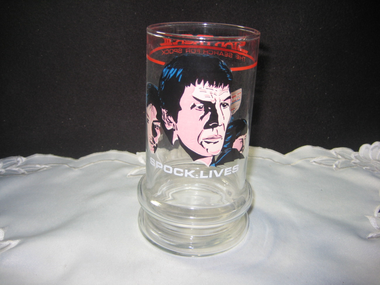 Star Trek Collector Glass Spock