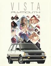 1991 Plymouth COLT VISTA sales brochure catalog folder US 91 4WD - $6.00