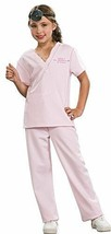 Girls Veterinarian Costume SMALL 4/6 Pink Scrubs Animal Doctor NEW - $15.99