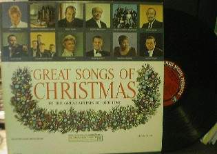 GOODYEAR Great Songs of Christmas - Album 4 -Various Artists -Columbia CSP-155M