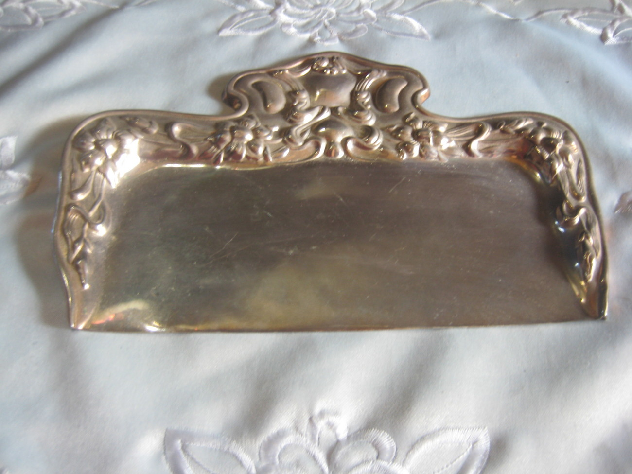 Silver Table Butler Very Old & Elegant