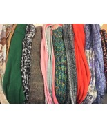 Lot of 10 very pretty Infinity Scarves Scarf Lot For Summer Into Fall Wi... - $28.04