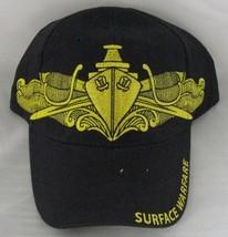 NEW U.S. Navy Surface Submarine Baseball cap hat. Navy Blue. 6145 - $14.84