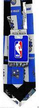 Orlando Magic Men's Necktie NBA Basketball Sports Team Logo Fan Neck Tie image 3