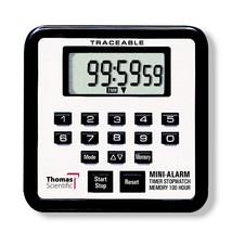 Thomas 5021 Traceable Mini Alarm Timer/Stopwatch, 0.01 Percent Accuracy,... - $29.43