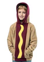 Boy's Rasta Imposta Pullover Sweatshirt Hoodie Hot Dog Child Halloween Small 4-6 - £9.63 GBP