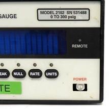 MENSOR 2102 DIGITAL PRESSURE GAUGE 0 TO 300 PSIG image 2