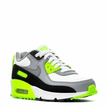 Nike Air Max 90 Ltr (Gs) 'lime' Us Big Kid Size 7Y {CD6864-101} - $108.85