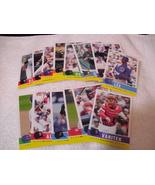 Fleer Major League Baseball Trading Cards ( lot # 8) - $1.00