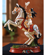 Southwest Tabletop Decor Halona And Horse Statue - $19.95