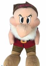 """Disney Grumpy Plush Huge 27"""" Jumbo Snow White Dwarf Large - $148.49"""