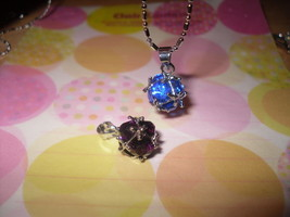 Sphere Rhinestone Pendant Necklace - $5.00