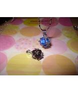 Sphere Rhinestone Pendant Necklace - $5.00