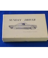 Sunday Driver Card Game 1965 Complete - $9.50