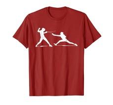 New Shirts - Fencing Shirt | Fencers Swordplay Lovers T-shirt Gift Men - $19.95+