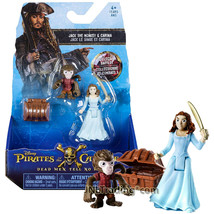 Pirates of the Caribbean Dead Men Tell No Tales Figure Jack the Monkey & Carina - $24.99
