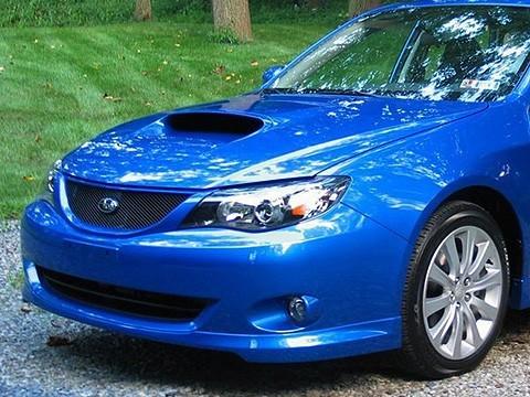 Front Bumper Sport Mesh Grill Grille Fits JDM Subaru Impreza 08-11 2008-2011