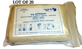 LOT 20  Israeli Triangular Dressing Bandage Medic Trauma Emergency IFAK EMT - $15.79