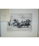 TAKING THE LEAD by George Shepherd - Vintage Western Print - $25.00
