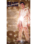 ELVIS KING OF ROCK ROLL DOLL - $25.00