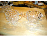 Jeannette cubist creamer and sugar bowl thumb155 crop