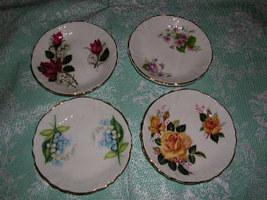 Floral Decorative Plates - $14.00