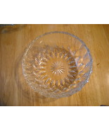 Crystal candy dish bowl - Has a nice Ring - $15.00