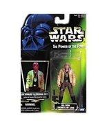 Star Wars POTF Luke Skywalker in Ceremonial Garb (green holo card) - $7.99