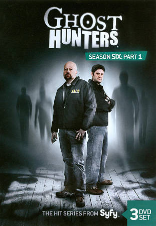 Ghost Hunters Season Six Part 1 3 DVD Set. Syfy