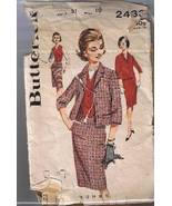 VINTAGE Butterick 2433 - Misses Three Piece Coo... - $4.00