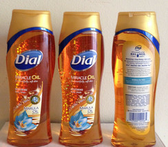(3) Dial Miracle Oil Restoring Body Wash 16Fl Oz ea (48Fl Oz ttl) - $18.00
