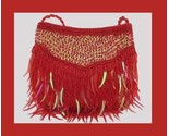 Red bead   sequin purse thumb155 crop