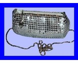 Silver mesh purse thumb155 crop