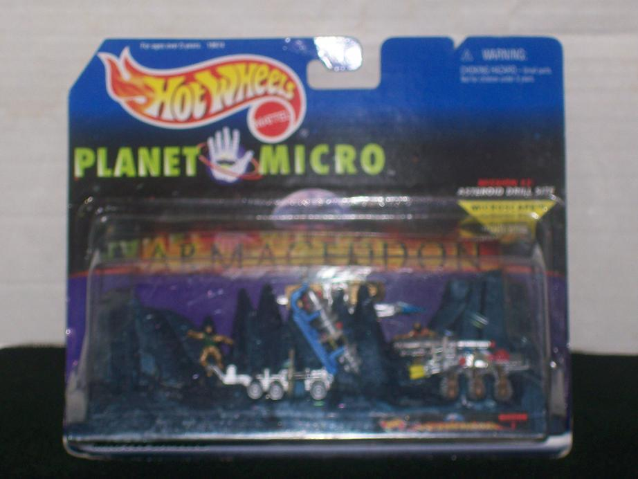 Hot Wheels Planet Micro - Armageddon Mission 2