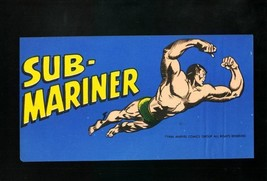 SUB-MARINER BUMPER STICKER 1966-MARVEL COMICS-ELUSIVE ! VF/NM - $94.58