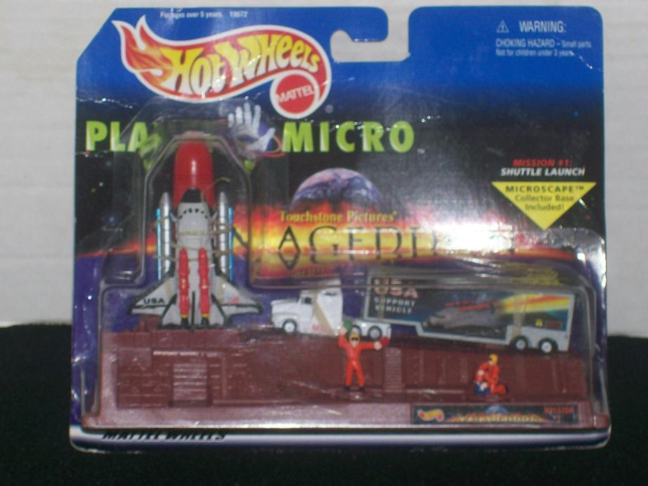 Hot Wheels Planet Micro - Armageddon Mission 1
