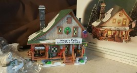 Dept 56 New England Village 1998 MOGGIN FALLS GENERAL STORE 56602 Retire... - $29.95