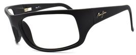 Maui Jim MJ-202-2M Peahi Men's Sunglasses Matte Black Wraparound FRAME ONLY - $48.70