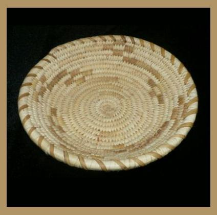 PAPAGO Ak-Chin Indian Yucca & Beargrass Basket by Francisca