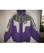 Ski doo Bombardier purple and white Snowmobile ... - $60.00